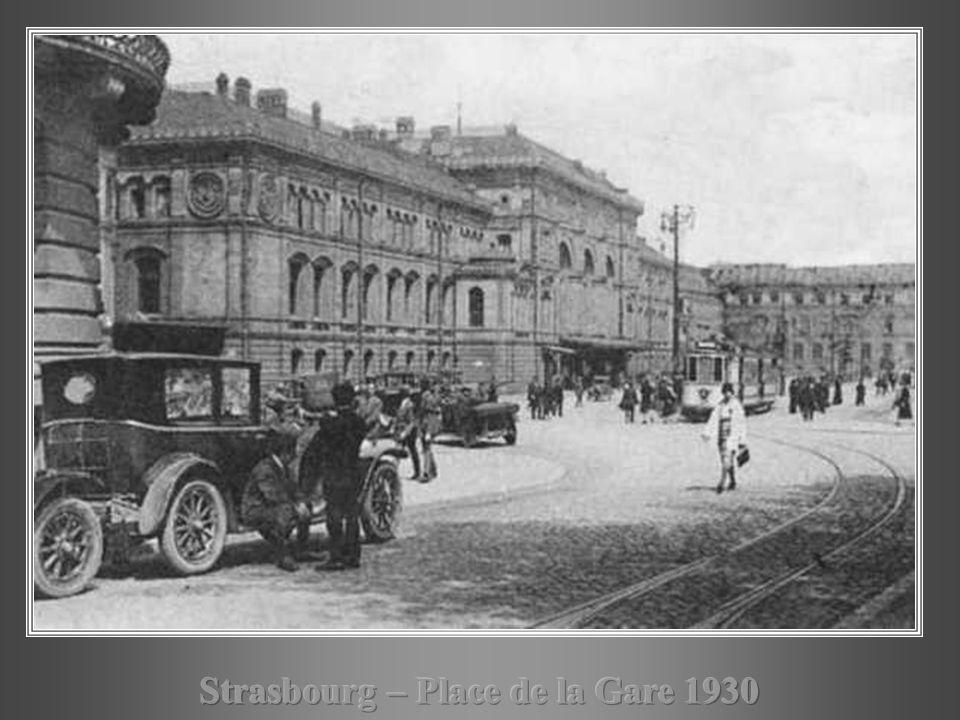 Strasbourg – Place de la Gare 1930