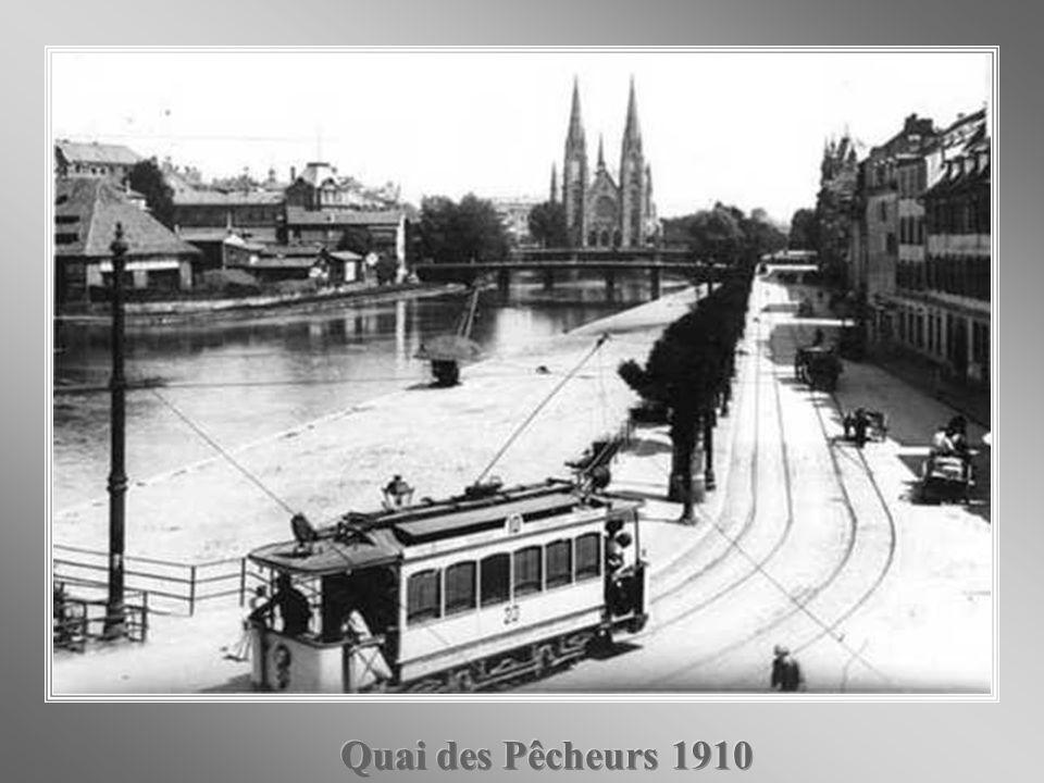 Quai des Pêcheurs 1910
