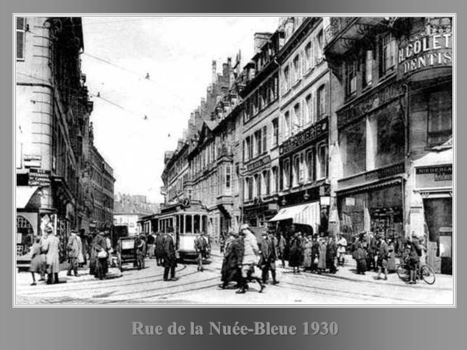 Rue de la Nuée-Bleue 1930