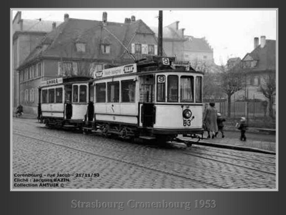 Strasbourg Cronenbourg 1953