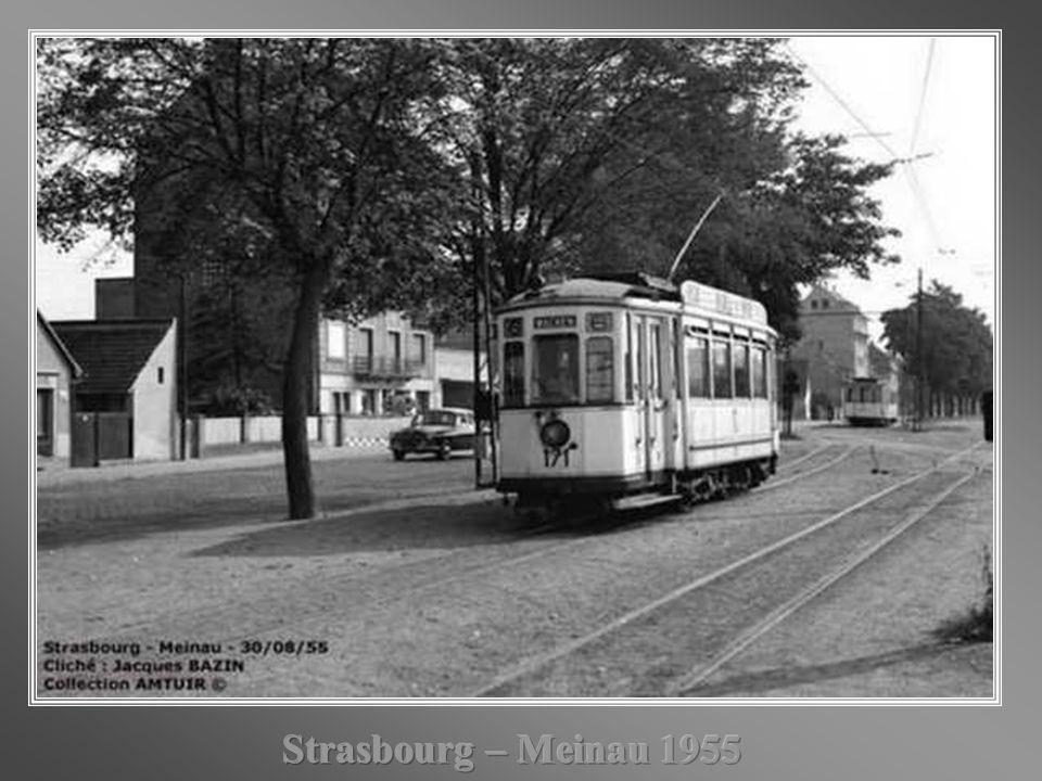 Strasbourg – Meinau 1955