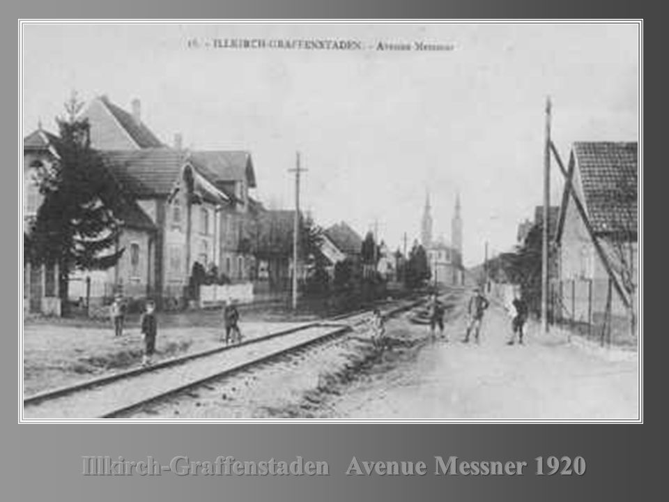 Illkirch-Graffenstaden Avenue Messner 1920