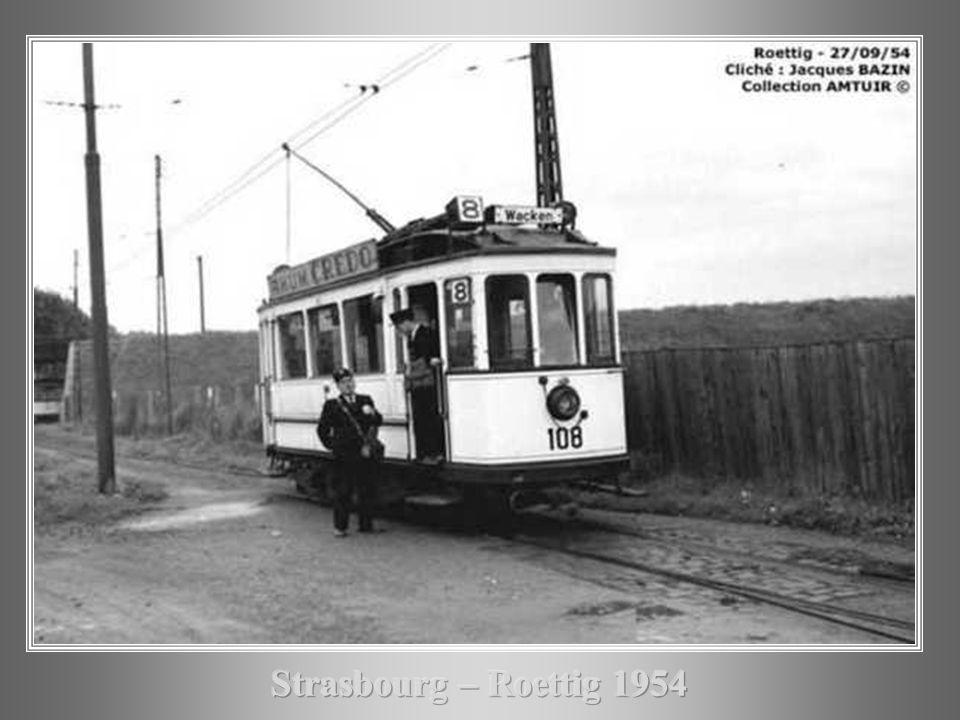 Strasbourg – Roettig 1954
