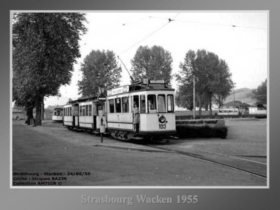 Strasbourg Wacken 1955