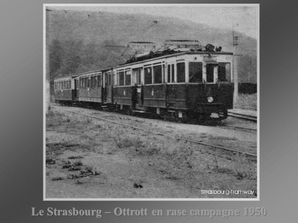 Le Strasbourg – Ottrott en rase campagne 1950
