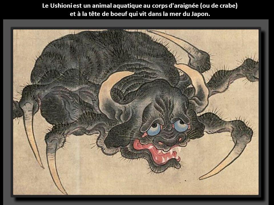 Le Ushioni est un animal aquatique au corps d araignée (ou de crabe)