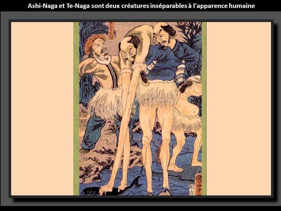 Ashi-Naga et Te-Naga sont deux créatures inséparables à l apparence humaine