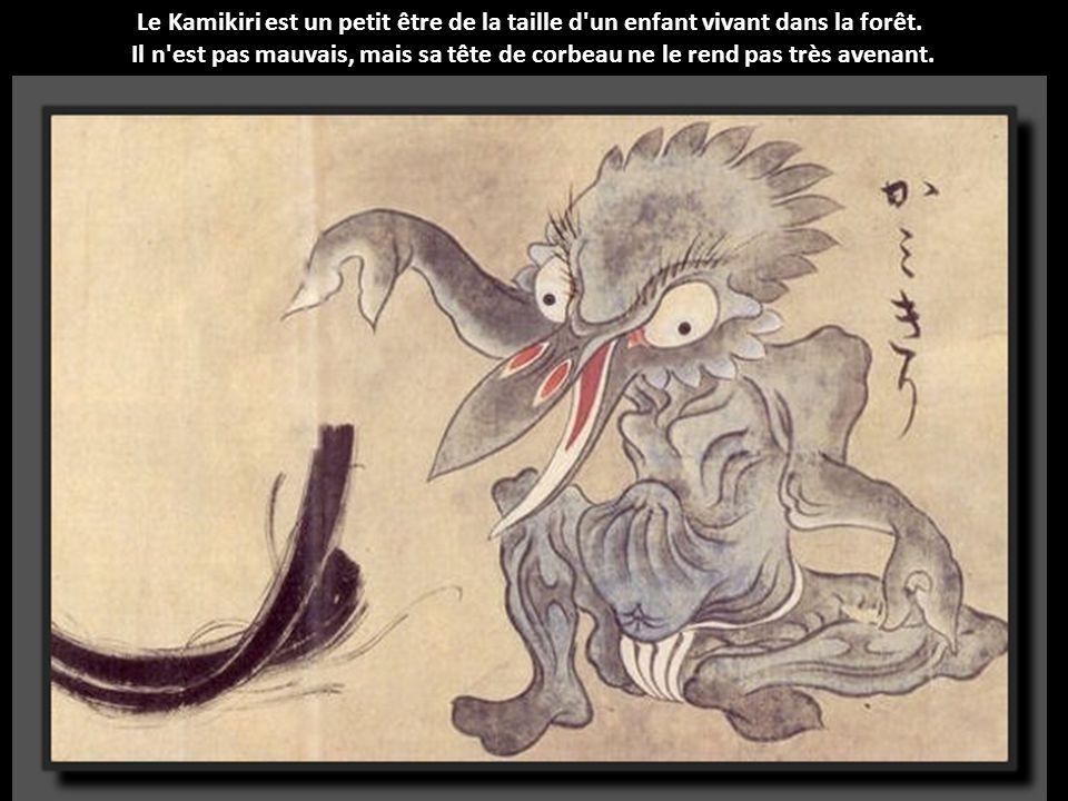 Le Kamikiri est un petit être de la taille d un enfant vivant dans la forêt.