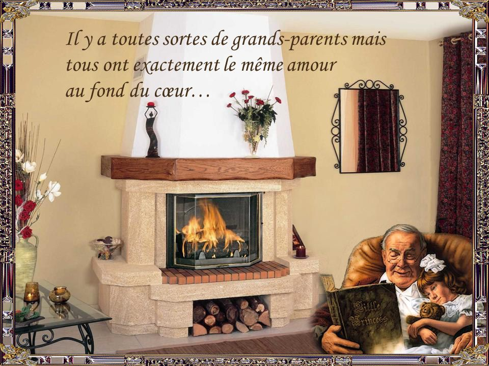 Il y a toutes sortes de grands-parents mais