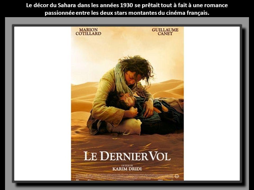 passionnée entre les deux stars montantes du cinéma français.