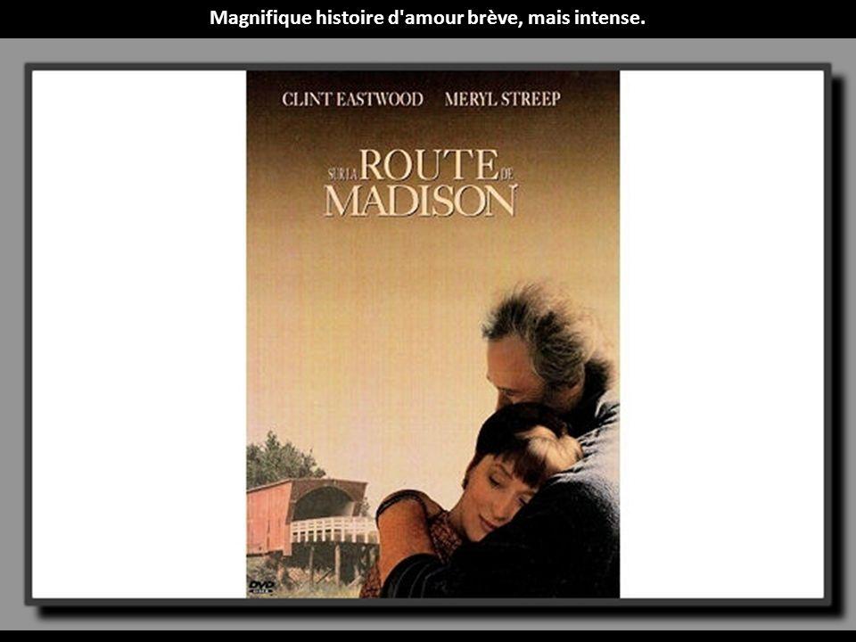 Magnifique histoire d amour brève, mais intense.