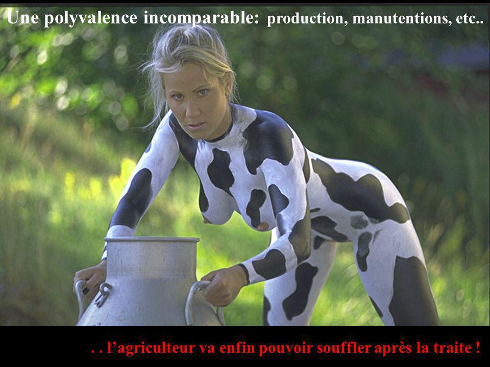 Une polyvalence incomparable: production, manutentions, etc..