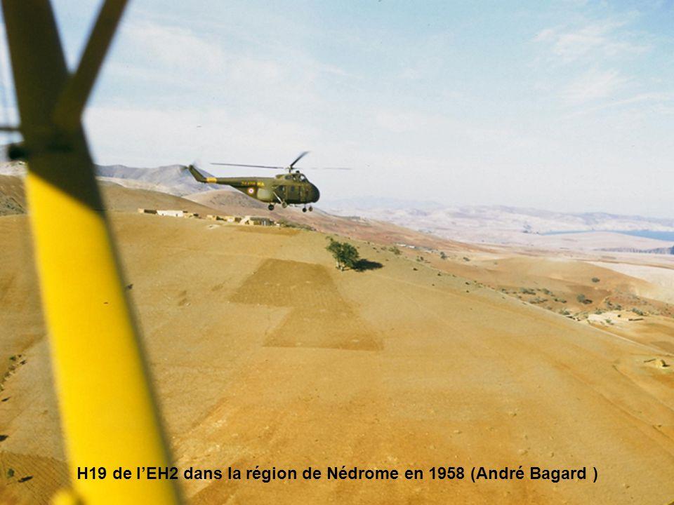 H19 de l'EH2 dans la région de Nédrome en 1958 (André Bagard )
