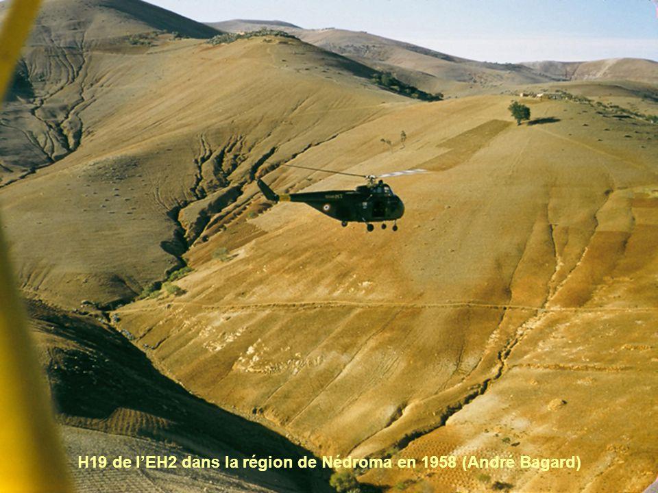 H19 de l'EH2 dans la région de Nédroma en 1958 (André Bagard)
