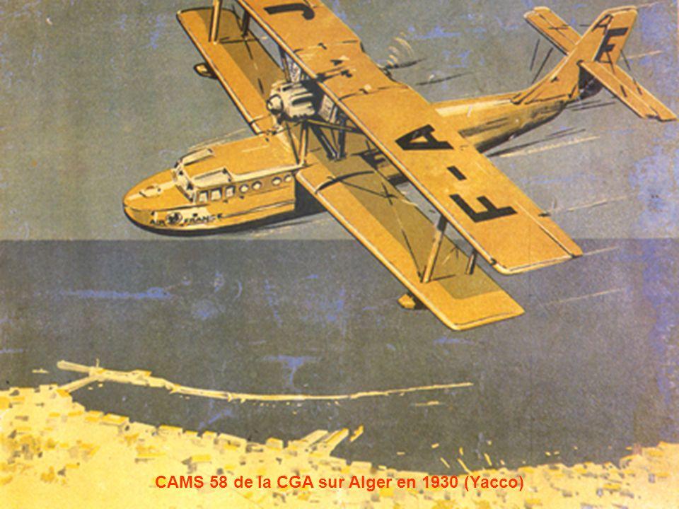 CAMS 58 de la CGA sur Alger en 1930 (Yacco)