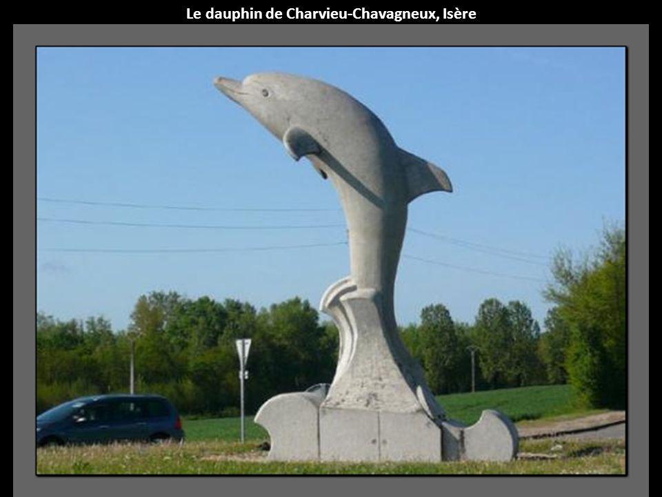 Le dauphin de Charvieu-Chavagneux, Isère