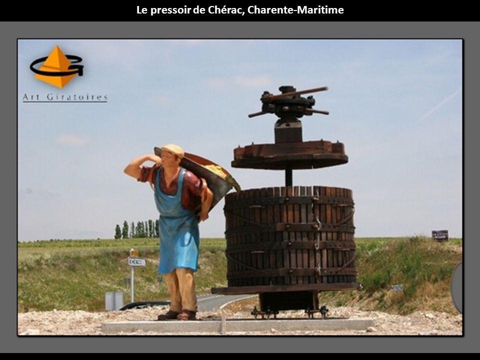 Le pressoir de Chérac, Charente-Maritime