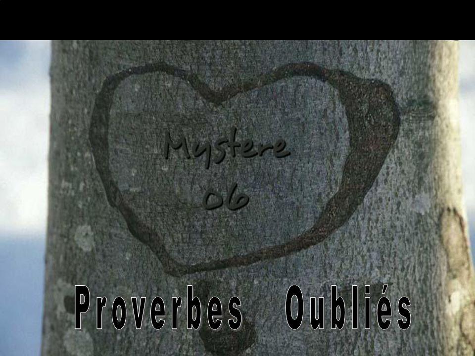 Proverbes Oubliés