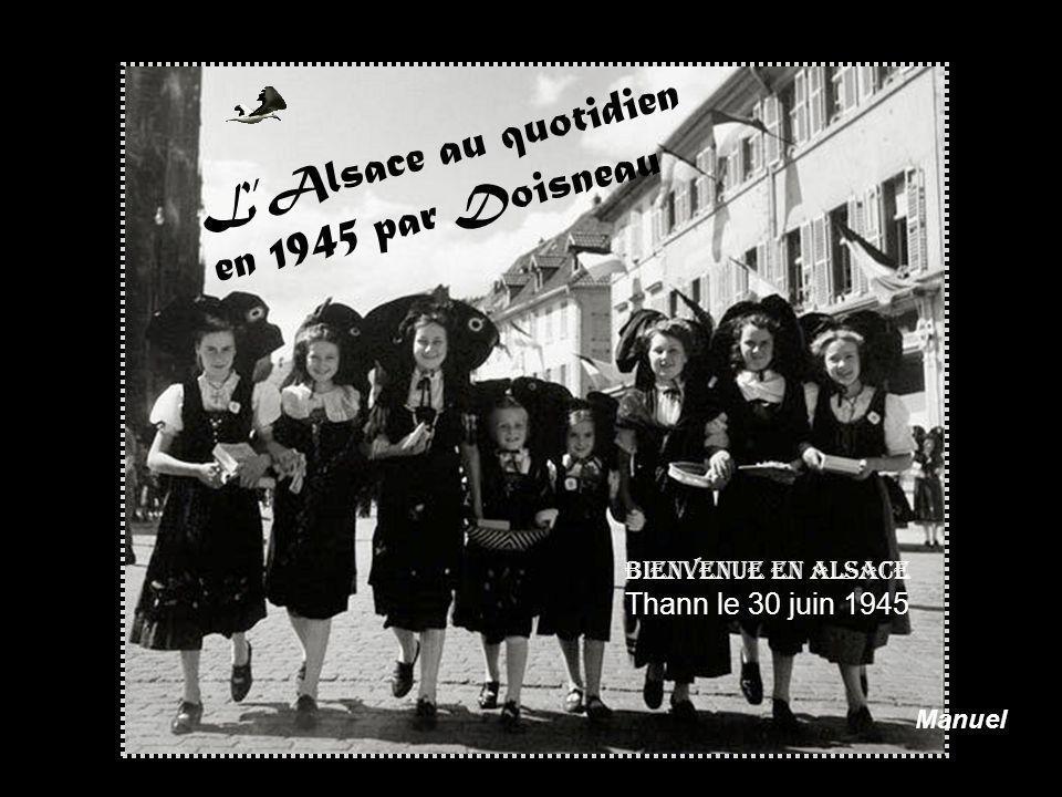L'Alsace au quotidien en 1945 par Doisneau