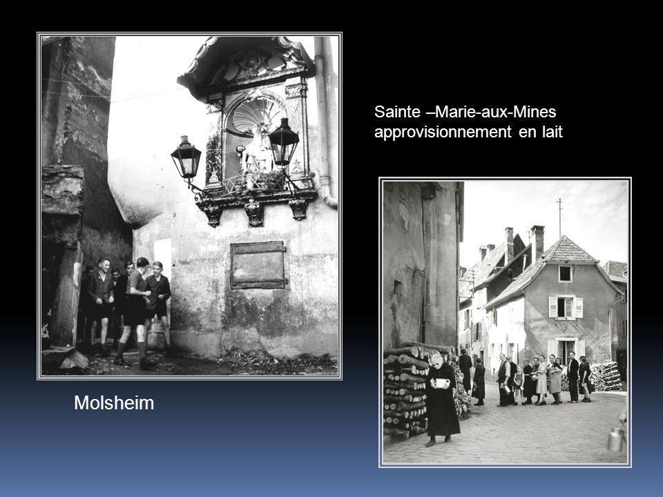Sainte –Marie-aux-Mines approvisionnement en lait