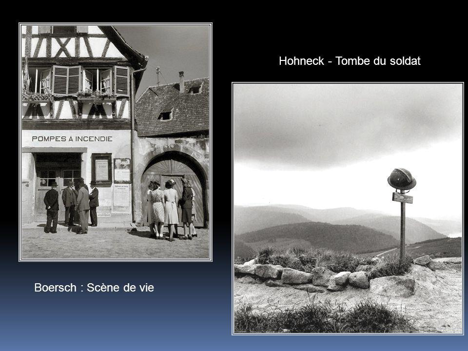 Hohneck - Tombe du soldat