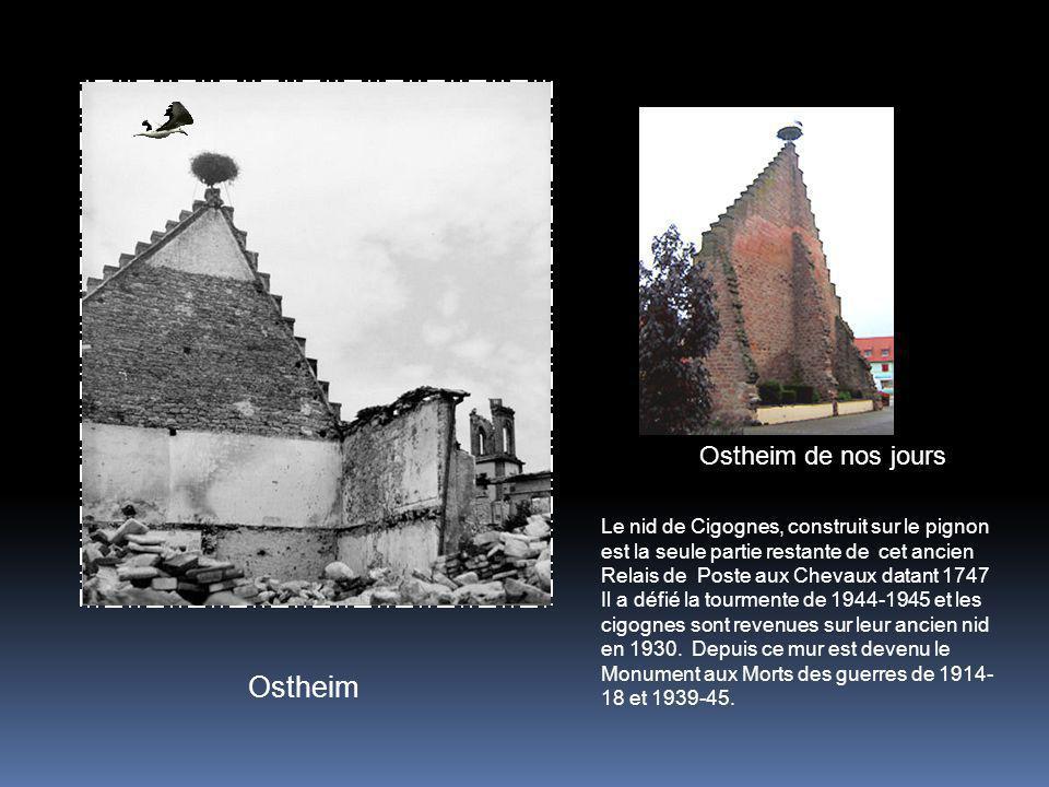 Ostheim Ostheim de nos jours
