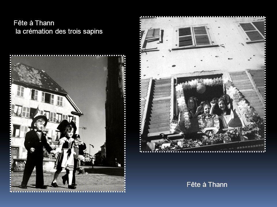 Fête à Thann la crémation des trois sapins Fête à Thann
