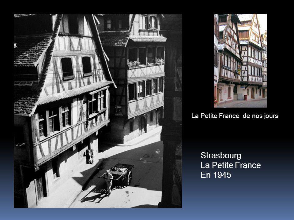 La Petite France de nos jours