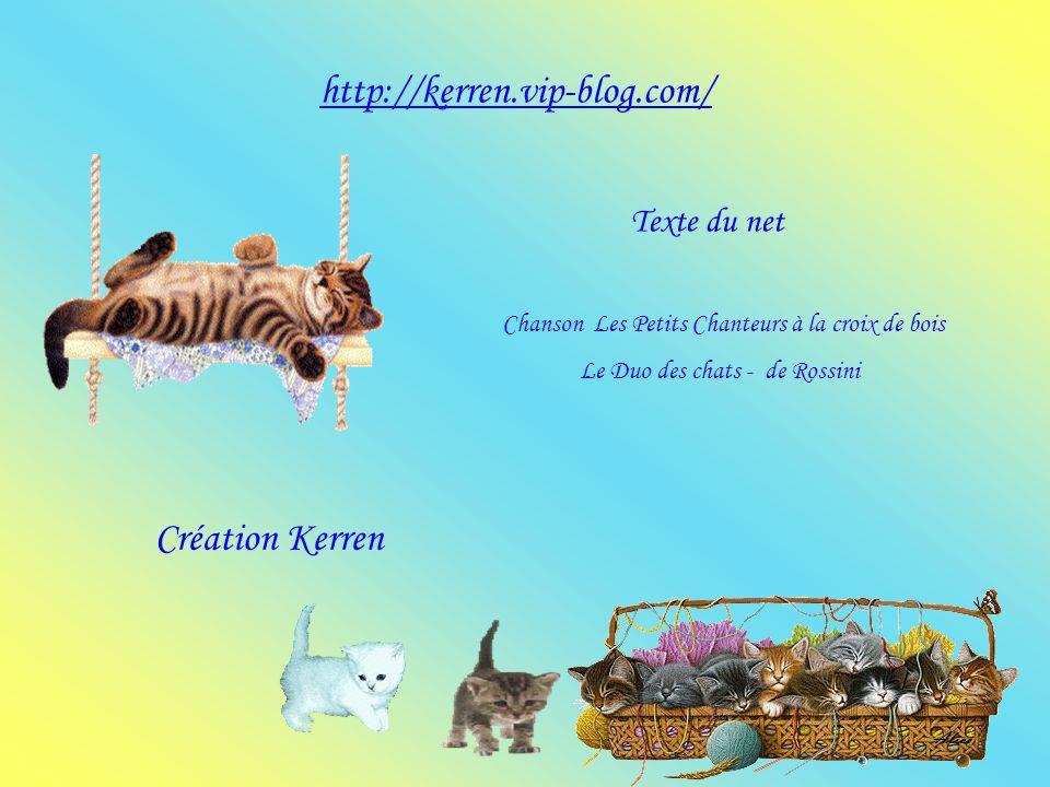 http://kerren.vip-blog.com/ Création Kerren Texte du net