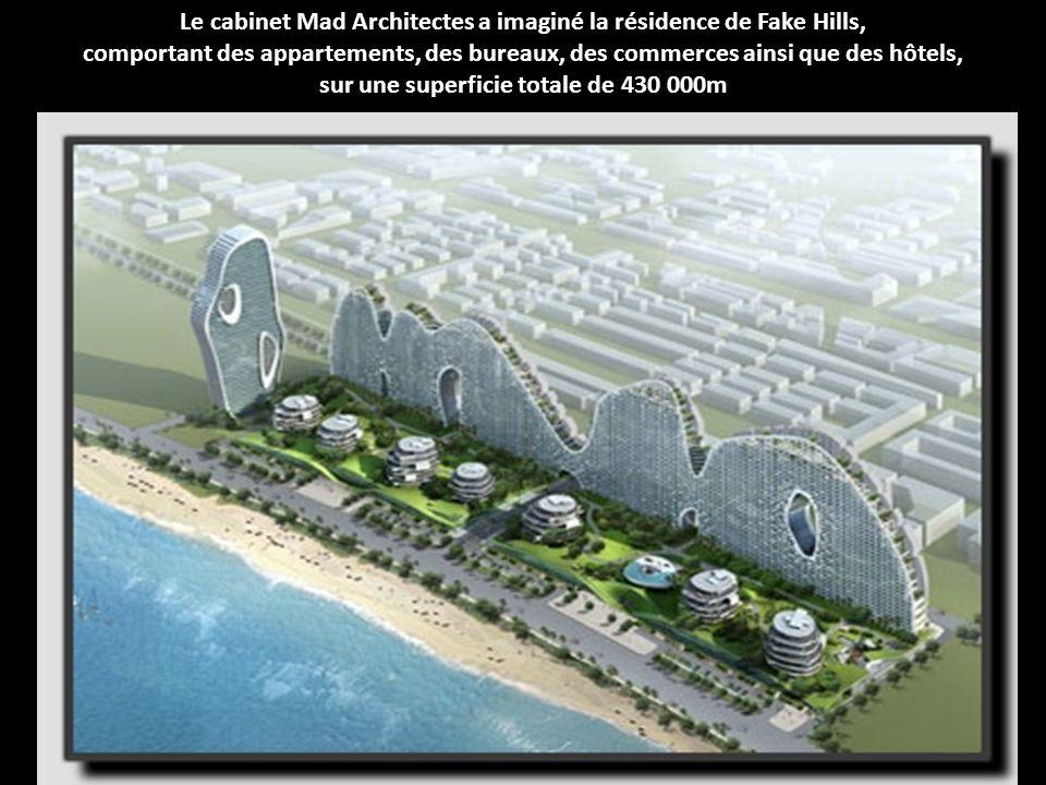 Le cabinet Mad Architectes a imaginé la résidence de Fake Hills,