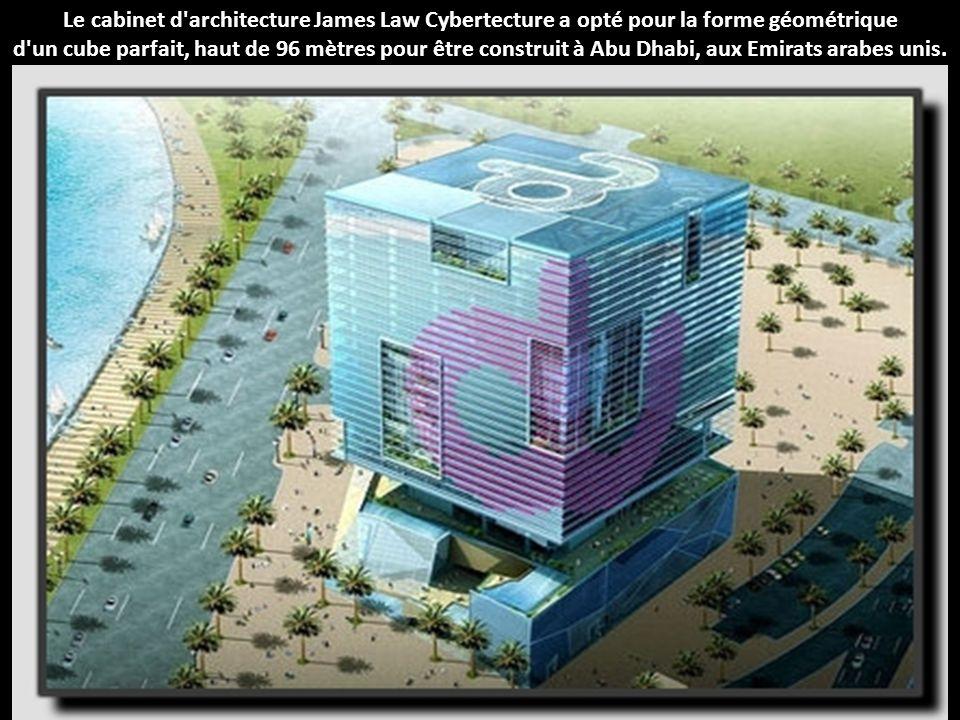Le cabinet d architecture James Law Cybertecture a opté pour la forme géométrique