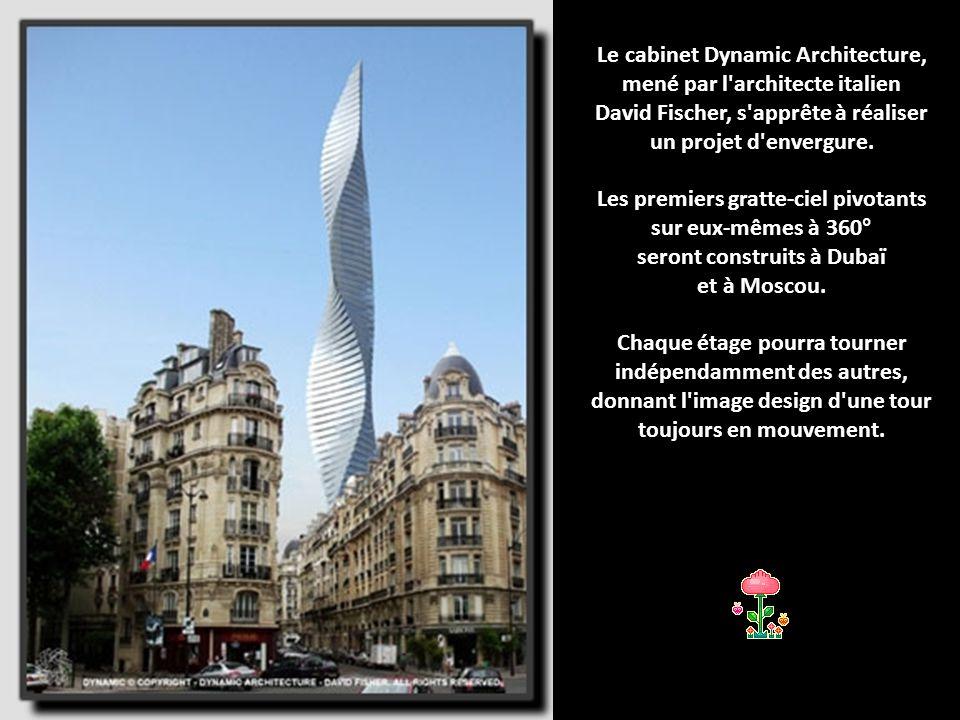Le cabinet Dynamic Architecture, mené par l architecte italien