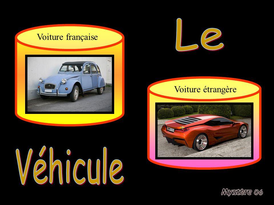Le Voiture française Voiture étrangère Véhicule