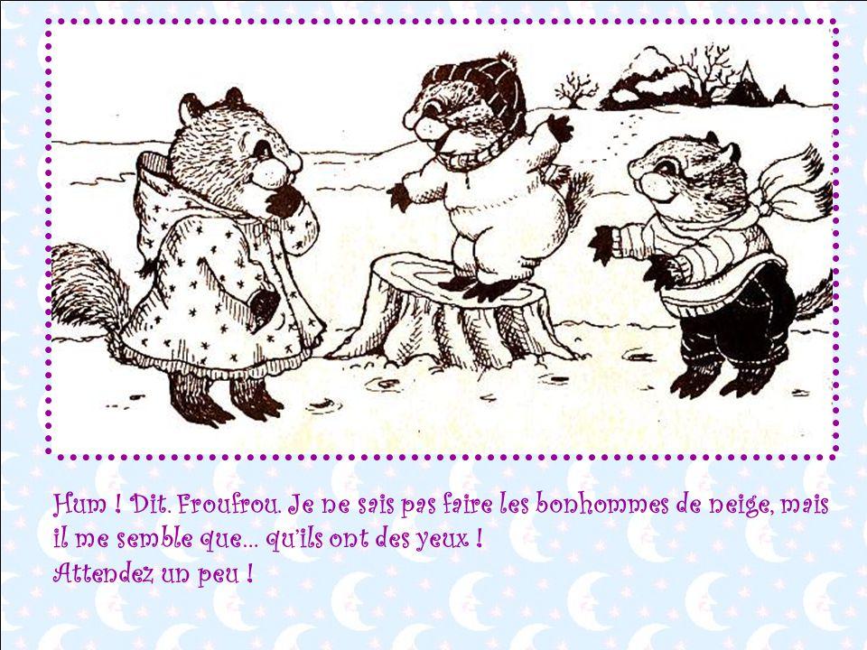 Hum . Dit. Froufrou.