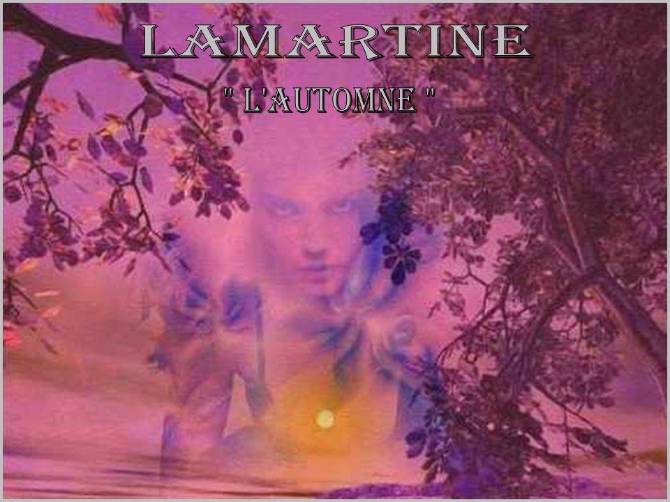 Lamartine l automne