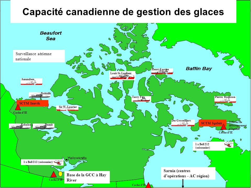 Capacité canadienne de gestion des glaces