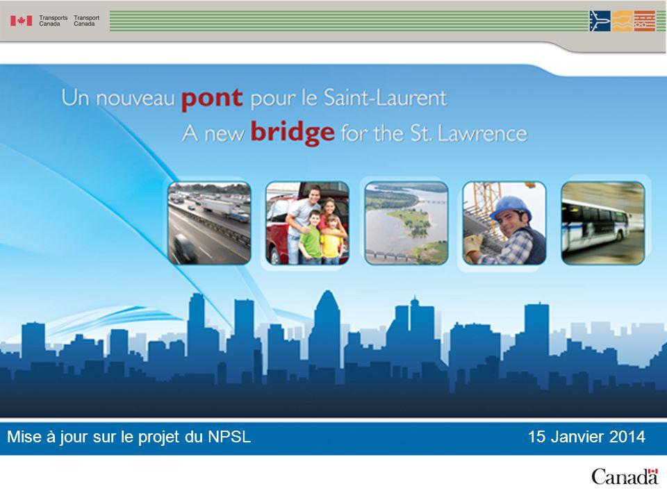 Mise à jour sur le projet du NPSL 15 Janvier 2014