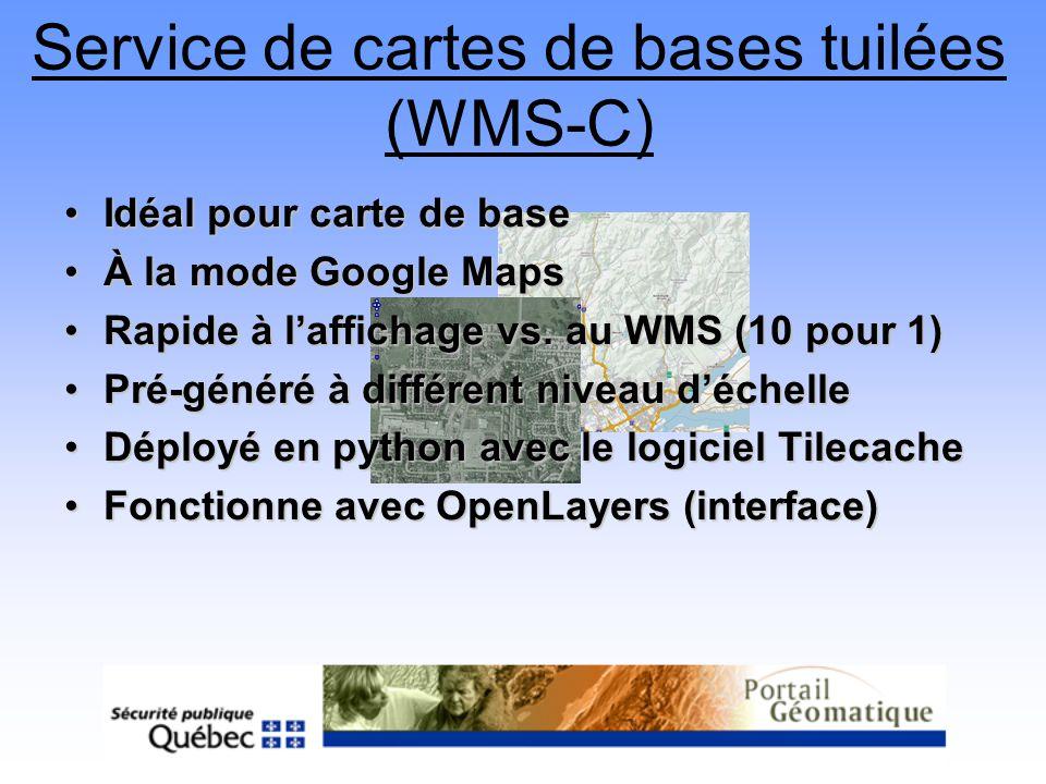Service de cartes de bases tuilées (WMS-C)