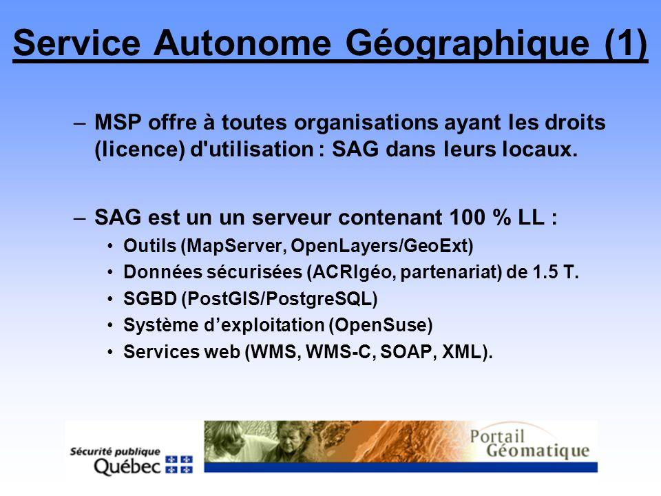 Service Autonome Géographique (1)