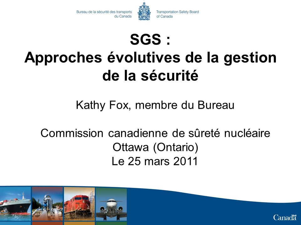 SGS : Approches évolutives de la gestion de la sécurité