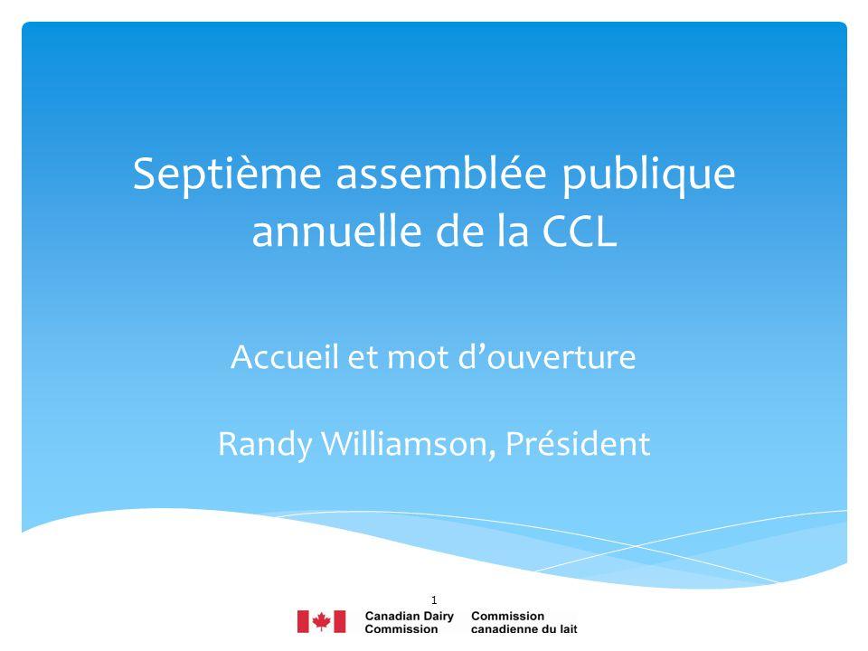 Septième assemblée publique annuelle de la CCL