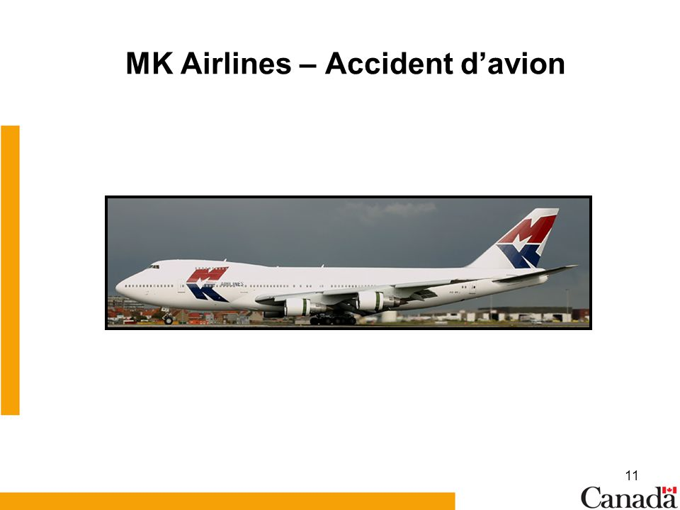 MK Airlines – Accident d'avion