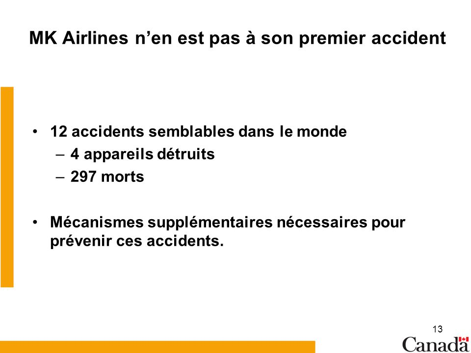 MK Airlines n'en est pas à son premier accident