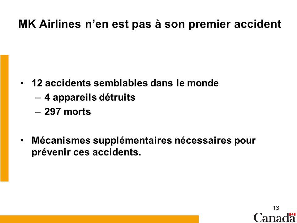 MK Airlines n'en est pas à son premier accident