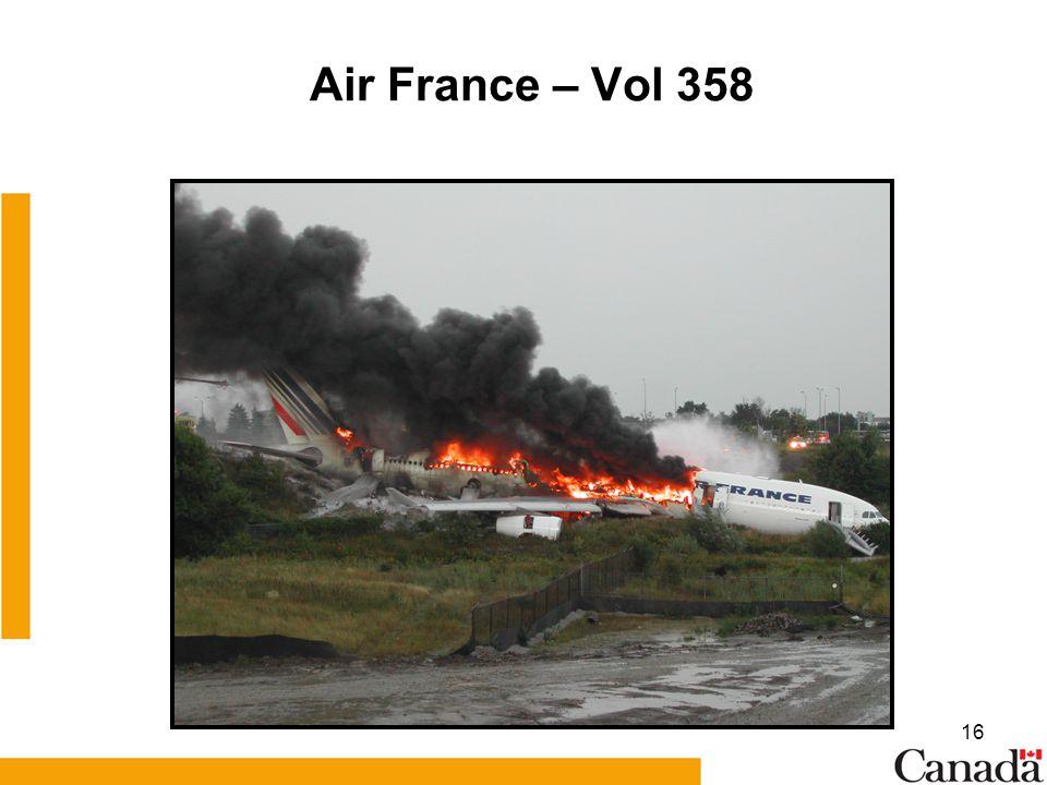 Air France – Vol 358