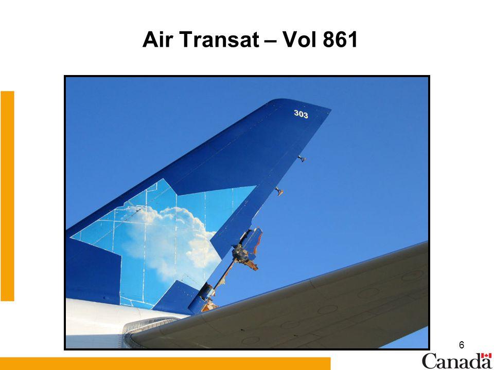 Air Transat – Vol 861