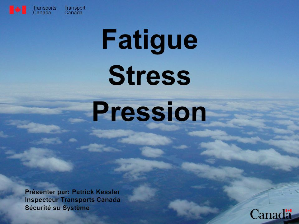 Fatigue Stress Pression