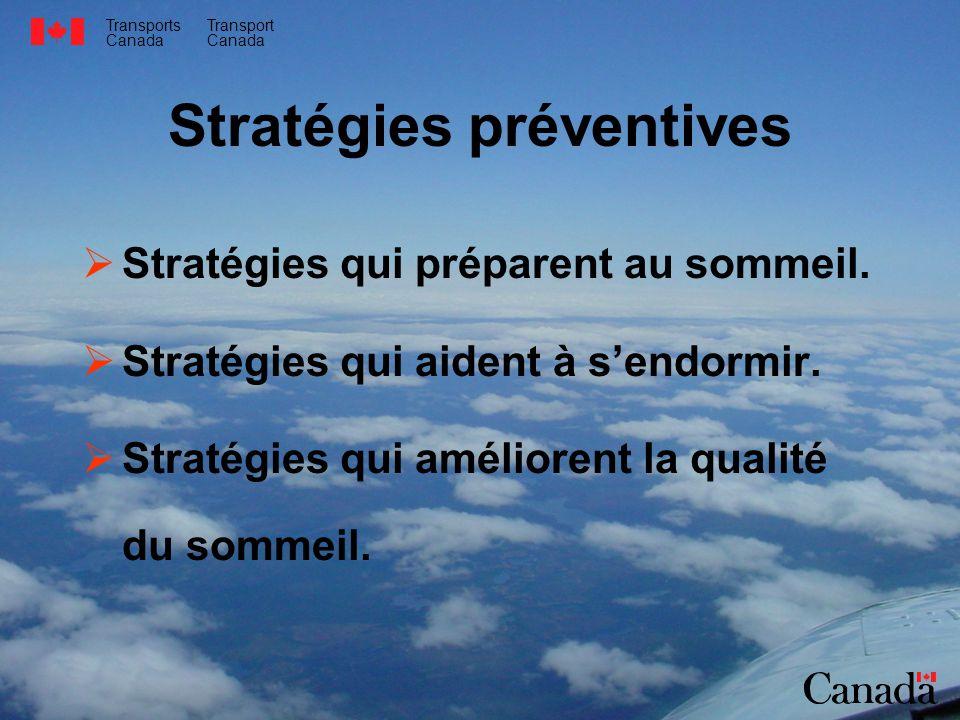 Stratégies préventives