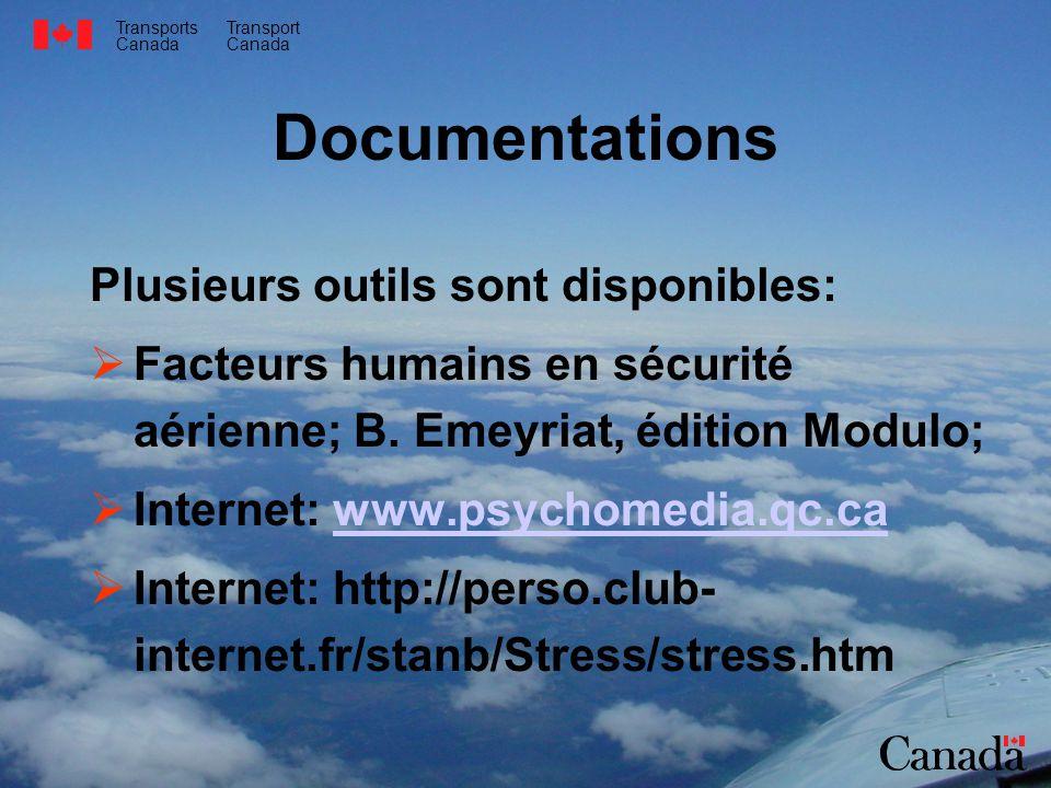Documentations Plusieurs outils sont disponibles: