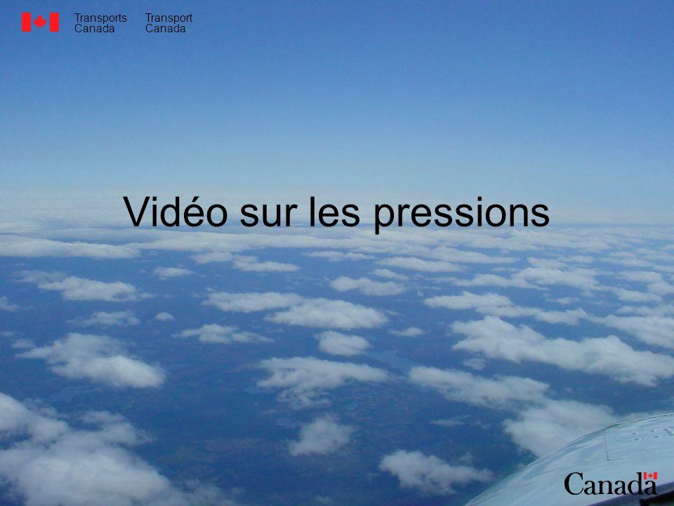 Vidéo sur les pressions